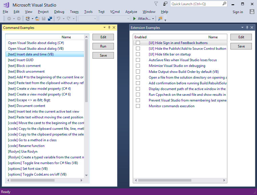 Visual Commander - Visual Studio Marketplace